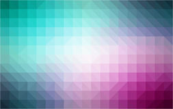 Retro pattern of geometric shapes. Colorful mosaic. Banner. Geometric Retro triangle background Royalty Free Stock Images
