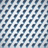 Retro pattern of geometric shapes half hexagon Royalty Free Stock Photo