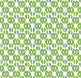 Retro pattern green Royalty Free Stock Photography