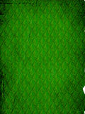 retro pattern - green leaves wallpaper Royalty Free Stock Photos