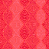 Retro pattern with linear shapes in vintage style Stock Photography