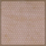 Retro pattern for love background; recycled paper craft Stock Image