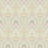 Retro pattern with pineapples Stock Photo