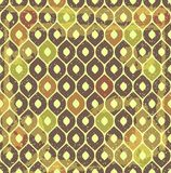 Retro pattern with scratches. Stock Images