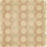 Retro pattern with scratches. Royalty Free Stock Image