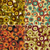 Retro pattern seamless, vector Royalty Free Stock Photos
