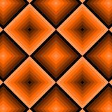 Retro pattern with squares Stock Image