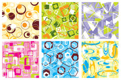Retro pattern, vector Royalty Free Stock Images