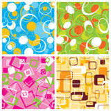 Retro pattern, vector Royalty Free Stock Photography