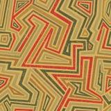 Retro pattern. Royalty Free Stock Image