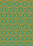 Retro pattern wallpaper Stock Photo
