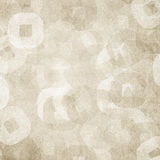 Retro patterned background stock image