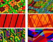 Retro Patterns. Set of Vector Retro Patterns (seamless tiling)- eps file available stock illustration