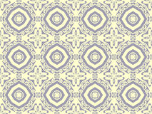 Retro patterns. Illustration of retro floral patterns Stock Image