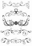 Retro patterns vector illustration
