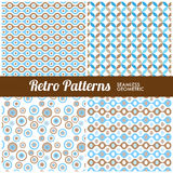 Retro Patterns Stock Photography