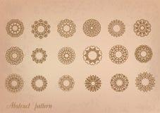 Retro patterns Stock Images