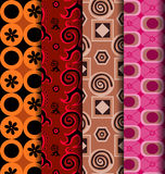 Retro patterns seamless Royalty Free Stock Image