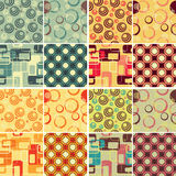 Retro patterns Royalty Free Stock Photography
