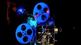 Retro, película de cine del documento, antigüedad, ocio metrajes