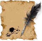 Retro pen. Royalty Free Stock Photography