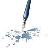 Retro pen Stock Afbeelding