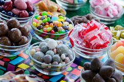Retro penny candy Stock Image