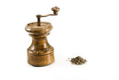 Retro Pepper-grinder Stock Photos