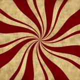 Retro Peppermint Swirl Background royalty free illustration