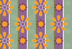 Retro Petal. Vector illustration, background image, wallpaper Royalty Free Stock Photo