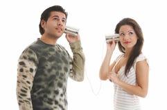 Retro-phone Royalty Free Stock Photography