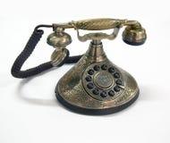 Retro phone. Isolated antique classic retro phone stock images