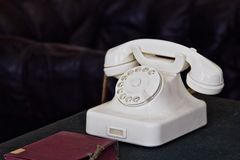 Retro phone Stock Photography
