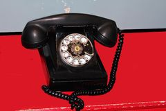 Retro Phone. Royalty Free Stock Photography