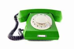 Retro phone Royalty Free Stock Photos