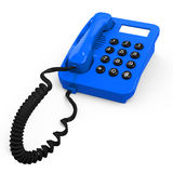 The retro phone Royalty Free Stock Photo