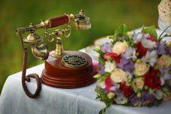 Retro phone design Royalty Free Stock Photo