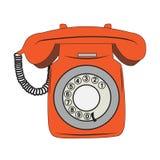 Retro phone Royalty Free Stock Photo