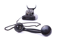 Retro phone isolated Royalty Free Stock Photos