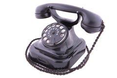 Retro phone isolated Stock Photos