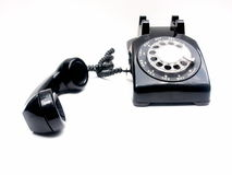 Retro phone, off the hook Stock Image