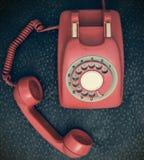 Retro phone Stock Photography