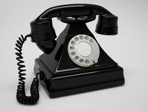 Retro Phone Render Royalty Free Stock Image