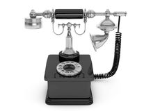 Retro Phone. Vintage Telephone Stock Image