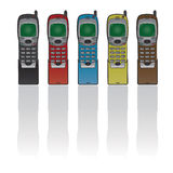 Retro phone Royalty Free Stock Image