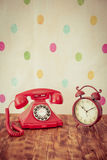 Retro phone Stock Images
