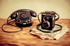 Retro phone Royalty Free Stock Photos