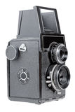 Retro photo camera Stock Images