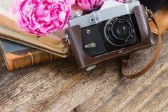 Retro photo camera Stock Photos