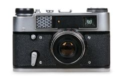 Retro photo camera Stock Image